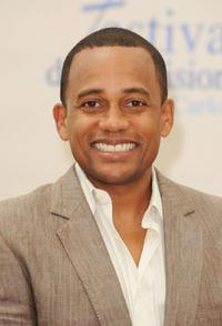 Hill Harper at the photocall of