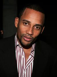 Hill Harper at the Grand Gala Hilton VIP reception.