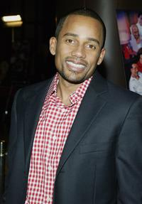 Hill Harper at the premiere of