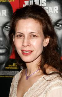 Jessica Hecht at the afterparty of
