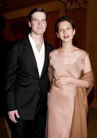 Peter Krause and Jessica Hecht at the American Airlines Theater.