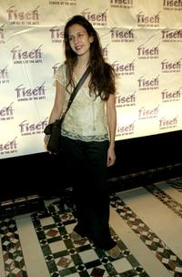 Jessica Hecht at the Tisch School of the Arts On Location: Tisch NY Gala.