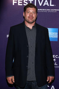 Brad Henke at the New York premiere of