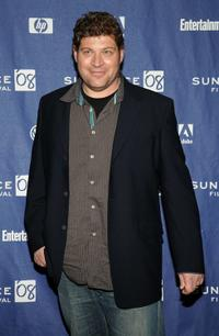 Brad Henke at the premiere of