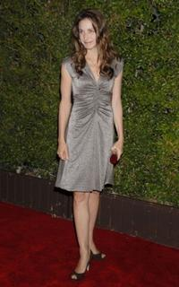 Marin Hinkle at the CBS celebration of Monday night season premiere.