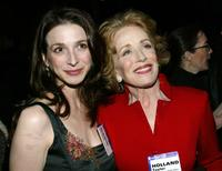 Marin Hinkle and Holland Taylor at the CBS / UPNs Super Bowl XXXVIII Party during the 2004 Winter Press Tour.