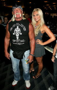 Hulk Hogan and Brooke Hogan at the MTV 2006 Video Music Awards Forum.