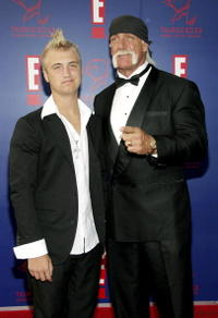 Nick Hogan and Hulk Hogan at the 5th Annual Taurus World Stunt Awards.