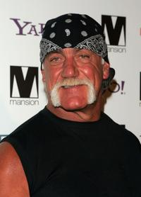 Hulk Hogan at a party for photographer David LaChapelle at Mansion nightclub.