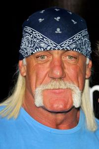 Hulk Hogan at the MarketAmerica.com Super XLI party.