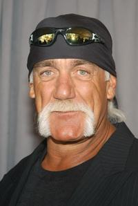 Hulk Hogan at the UPN Upfront.