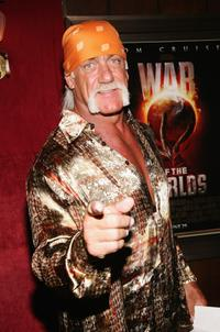 Hulk Hogan at the New York premiere of