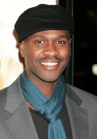 Brian Hooks at the premiere of