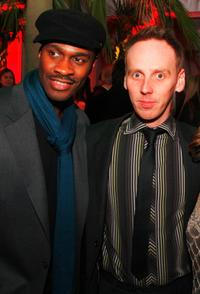 Brian Hooks and Ewen Bremner at the after party of the premiere of