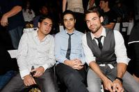 Frankie Delgado, Guest and Kyle Howard at the Lauren Conrad Collection Spring 2009 fashion show during the Mercedes-Benz Fashion Week.