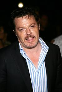 Eddie Izzard at the Season Four premiere screening of