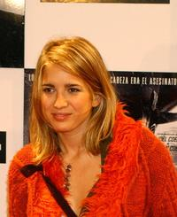Lucia Jimenez at the Spanish premiere of