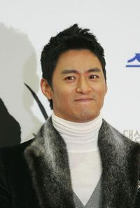 Joo Jin Mo at the 28th Blue Dragon Film Awards.
