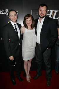 Vincent Kartheiser, Elisabeth Moss and Michael Gladis at the Hollywood Life magazine's 10th Annual Young Hollywood Awards.