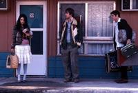 Mila Kunis, Jon Heder and Ben Gourley in