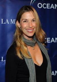 Brooke Langton at the Oceana's 2009 Partners Award Gala.