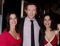 Brooke Langton, Damian Lewis and Sarah Shahi at the premiere screening of