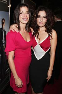 Brooke Langton and Sarah Shahi at the Los Angeles premiere of
