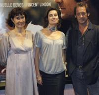 Anne Le Ny, Emmanuelle Devos and Vincent Lindon at the screening of