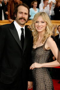Jason Lee and his wife Beth Reisgraf at the 13th Annual Screen Actors Guild Awards in Los Angeles.
