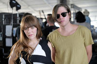 Jenny Lewis and Johnathan Rice at the Coachella Valley Music & Arts Festival in California.