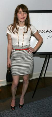 Jenny Lewis at the presentation of Jovovich-Hawk For MNG Collection.