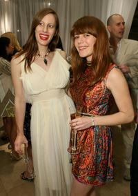 Liz Goldwyn and Jenny Lewis at the Rodarte Cocktail Party.
