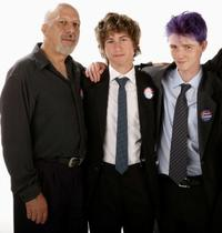 Erick Avari, Alex D. Linz and Luke Eberl at the 2007 CineVegas film festival.