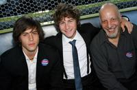 Escher Holloway, Alex D. Linz and Erick Avari at the 2007 CineVegas film festival.