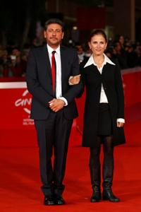 Sergio Castellitto and Margaret Mazzantini at the 4th Rome International Film Festival.