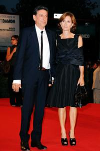Sergio Castellitto and Margaret Mazzantini at the 66th Venice Film Festival.