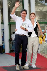 Sergio Castellitto and Margaret Mazzantini at the 2009 Giffoni Experience.