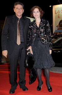 President of the Jury Sergio Castellitto and Margaret Mazzantini at the premiere of
