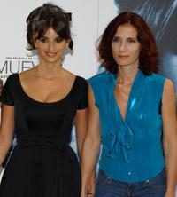 Penelope Cruz and Margaret Mazzantini at the photocall of