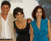 Director Sergio Castellitto, Penelope Cruz and Margaret Mazzantini at the photocall of