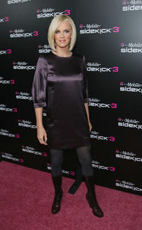 Jenny McCarthy at the Launch of T-Mobile Sidekick 3 Limited Edition in Beverly Hills.