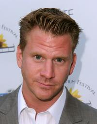 Dash Mihok at the opening night of Feel Good Film Festival.