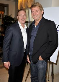Jay Mohr and Fred Nelson at the 35th Annual People's Choice Awards nominations.