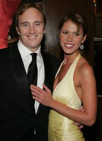 Jay Mohr and Nikki Cox NASCAR Nextel Cup Awards.