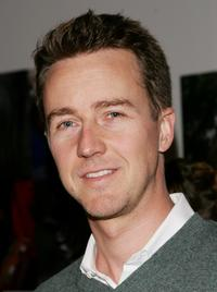 Edward Norton at the Domino Magazine's