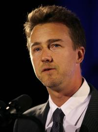 Edward Norton at The Empire State Pride Agendas 15th Annual Fall Dinner.