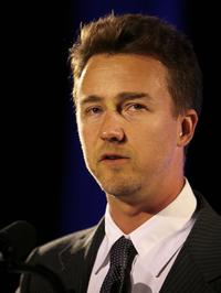 Edward Norton at the Empire State Pride Agenda's 15th Annual Fall Dinner.