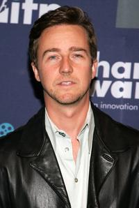 Edward Norton at the 16th Annual Gotham Awards.