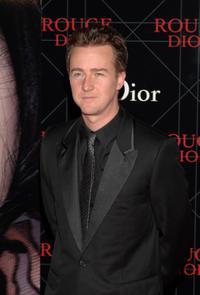 Edward Norton at the Christian Dior Gala Dinner.
