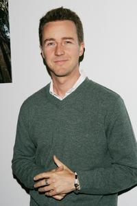 Edward Norton at Domino Magazines Green party.